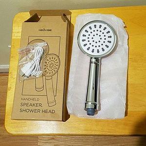 H2OVIBE HANDHELD SPEAKER SHOWER HEAD